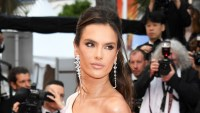 Alessandra Ambrosio Smokey Eye Cannes