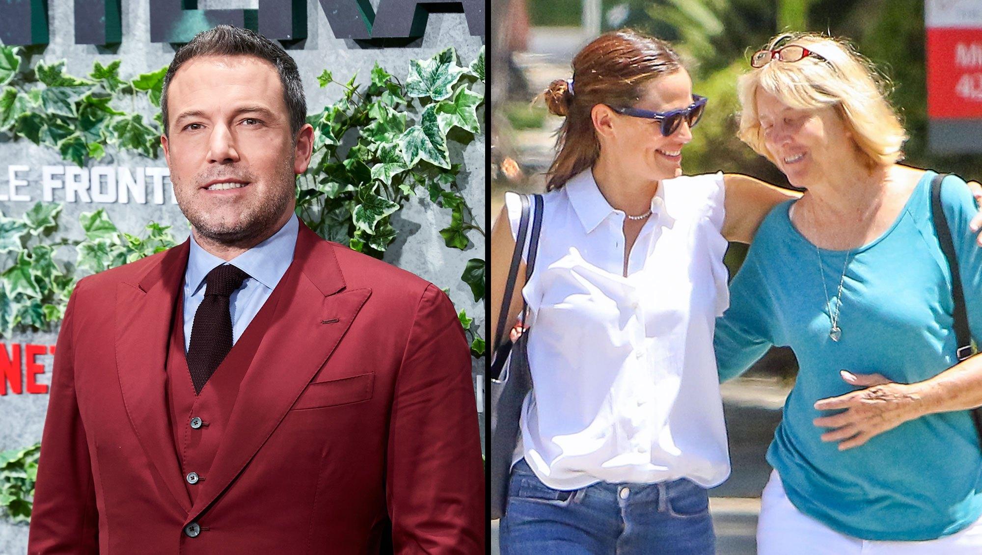 Ben Affleck Pays Tribute to 'Incredible' Ex-Wife Jennifer Garner, Mom Christine
