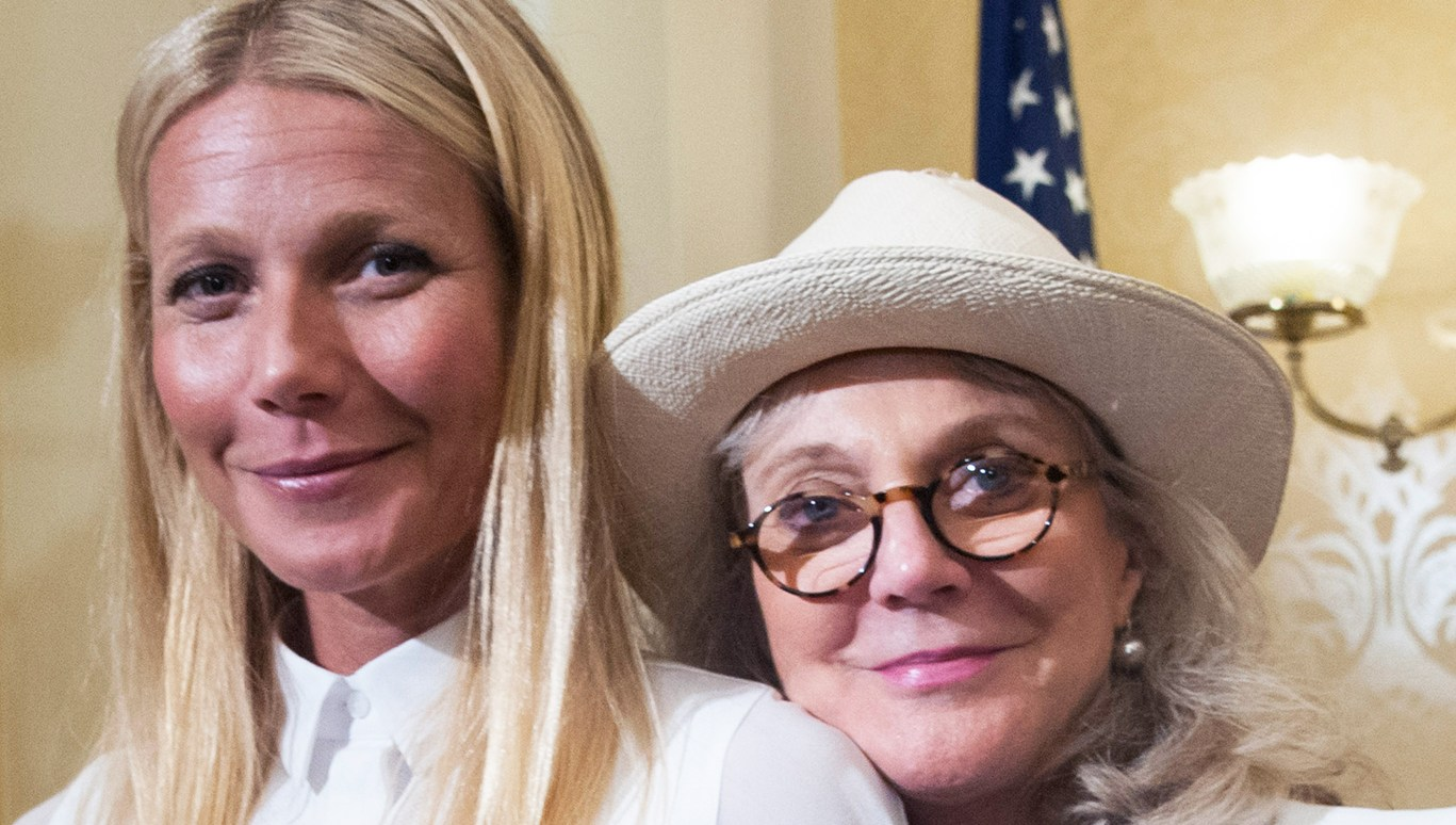 Blythe Danner Calls Gwyneth Paltrow a 'Brilliant' Parent