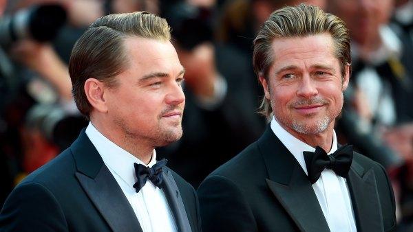 Brad Pitt On Working With Leonardo DiCaprio