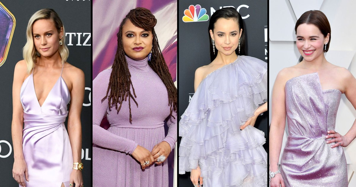 Lovely in Lavender: Stars Stun in Shades of Lilac on the Red Carpet