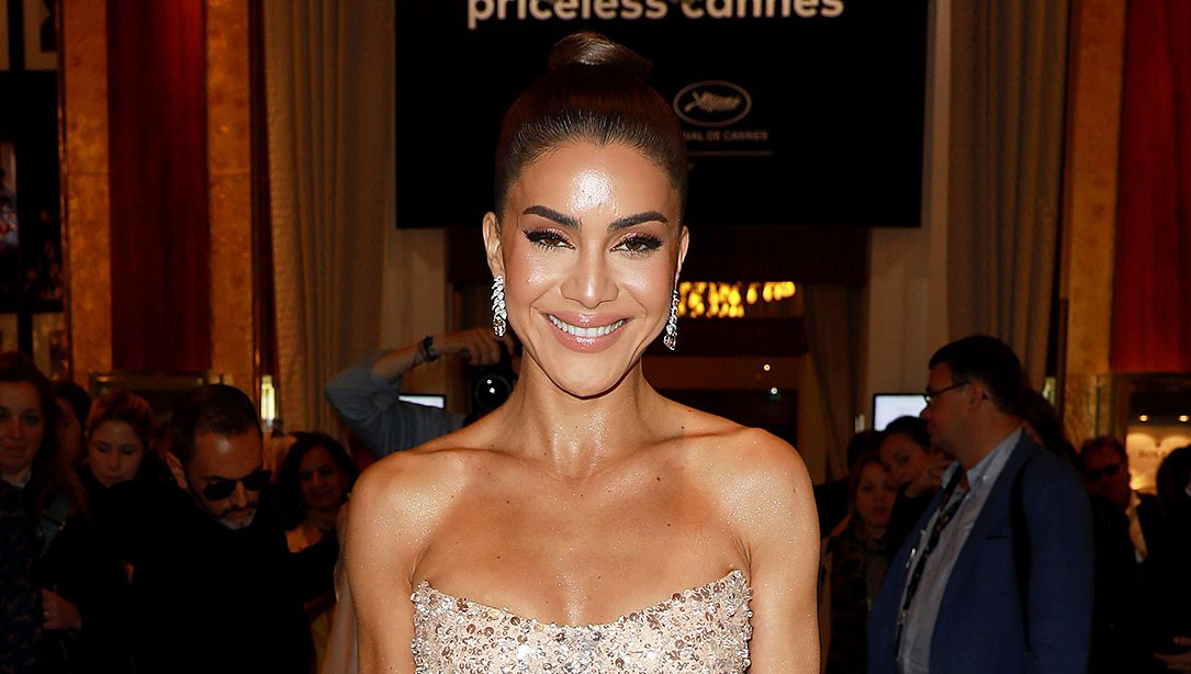 Camilla Coelho Nearly Naked Red Carpet Look Cannes Film Festival