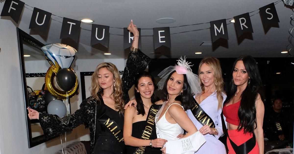 Inside Cheryl Burke's Bachelorette Party Ahead of Matthew Lawrence Wedding