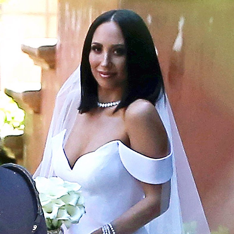 Cheryl Burke Romona Keveza Wedding Dress