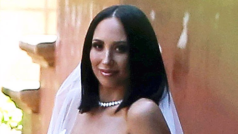 Cheryl Burke Romona Keveza Wedding Dress