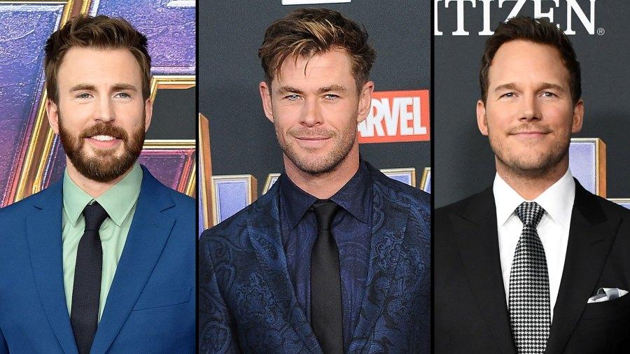 Chris Evans Calls Chris Hemsworth and Chris Pratt Losers