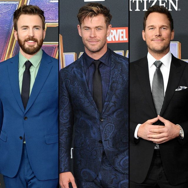 Chris Evans Calls Avengers Chris Hemsworth, Chris Pratt 'Losers'