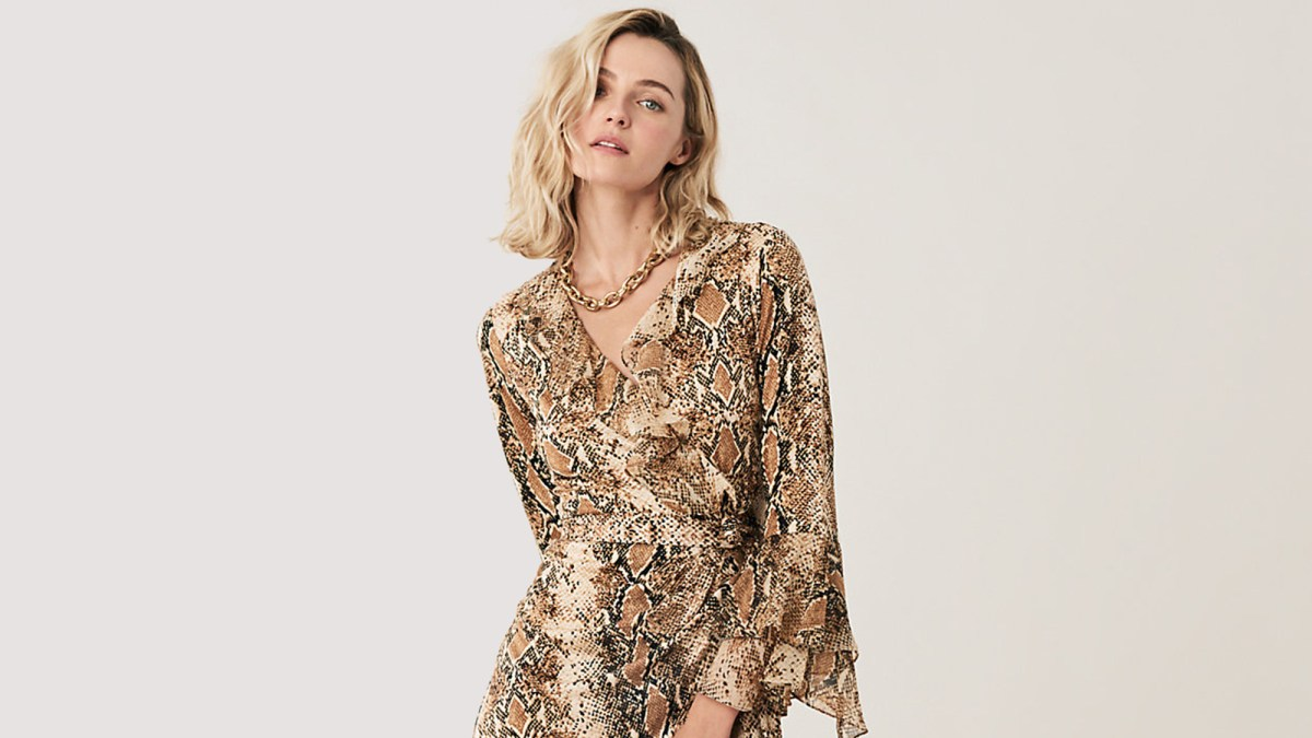 fce2372a191 This DVF Wrap Dress Is on Sale in One of 2019's Hottest Prints