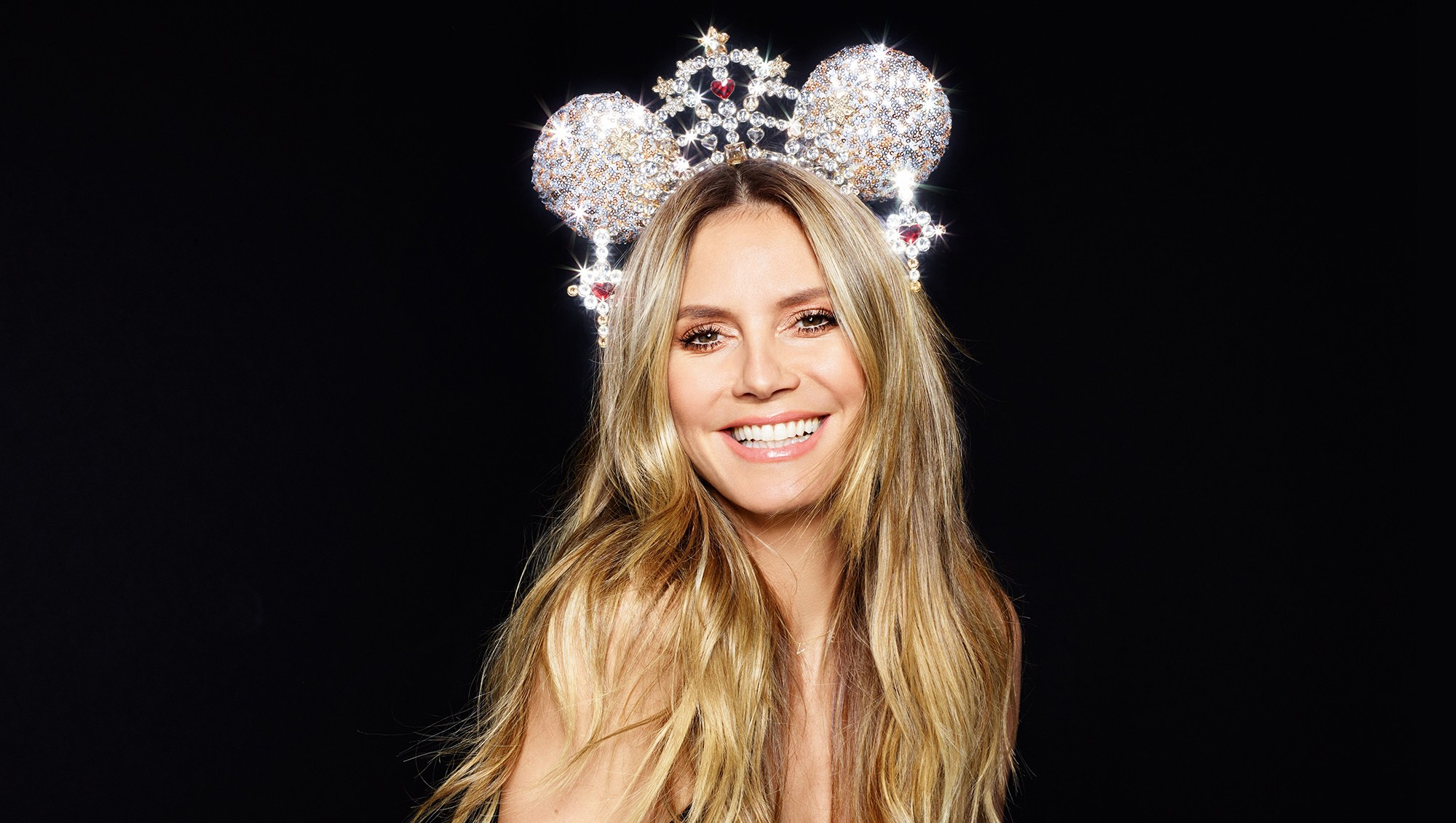 Disney Mickey Minnie Mouse Ears Created by Heidi Klum Vera Wang