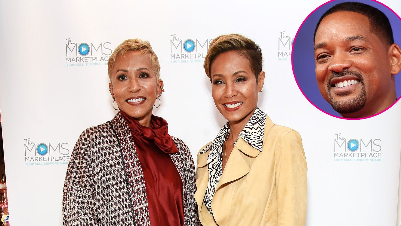 Jada Pinkett Smith's Mom Adrienne Banfield-Norris Persuaded Her to Marry Will Smith: 'I Didn't Want to!'