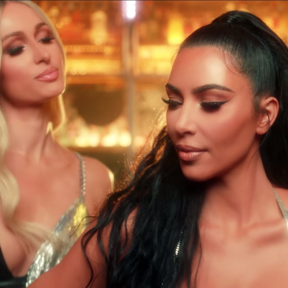 Kim Kardashian Makes a Sexy Cameo in Pal Paris Hilton's 'Best Friend's Ass' Music Video
