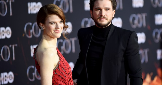 From 'Game of Thrones' Costars to Husband and Wife: Kit Harington and Rose Leslie's Relationship Timeline.jpg