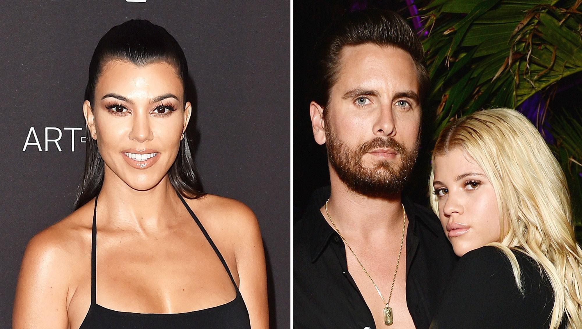 Kourtney Kardashian Is 'Proud' of Friendship With Scott Disick, Sofia Richie