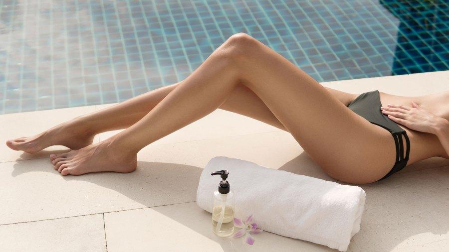 Legs-Tanning