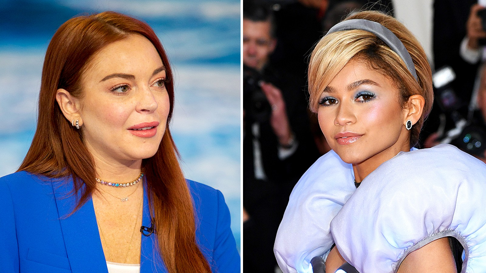 be147498e Lindsay Lohan Disses Zendaya's Cinderella Met Gala 2019 Look: She Can't Be  'More Chic' Than Claire Danes