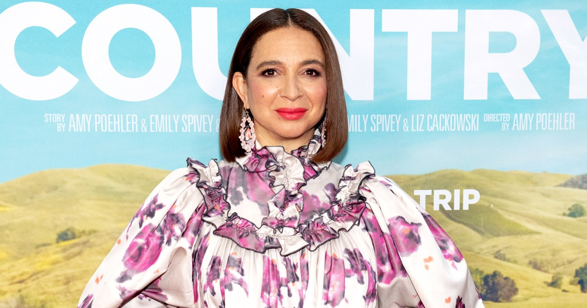Maya Rudolph on Why She's 'Happy' Seeing Biracial Royal Baby