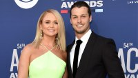 Miranda Lambert Shares Adorable Photo of Husband Brendan McLoughlin Posing With Puppies 54th Academy of Country Music Awards