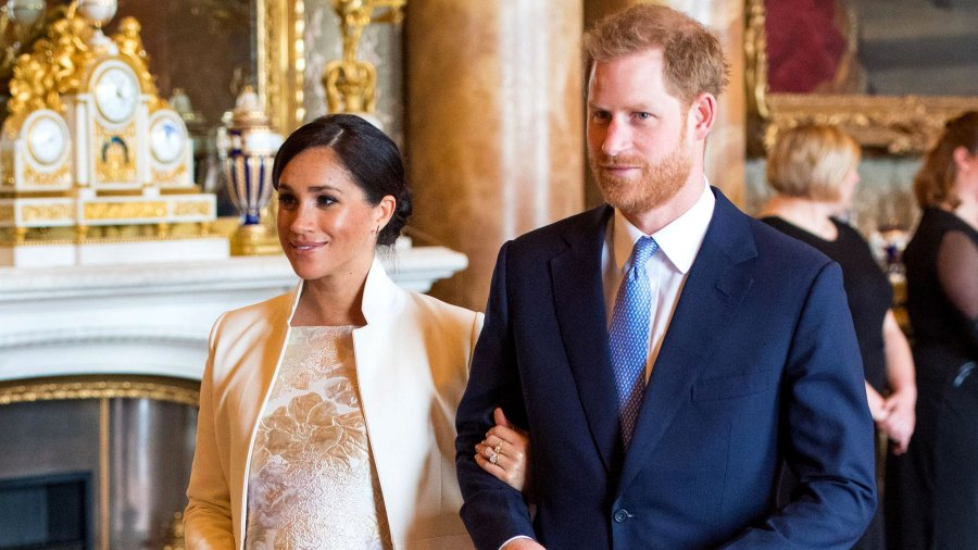 Prince Harry and Duchess Meghan Send Lots of Love to Princess Charlotte on Her 4th Birthday Buckingham Palace
