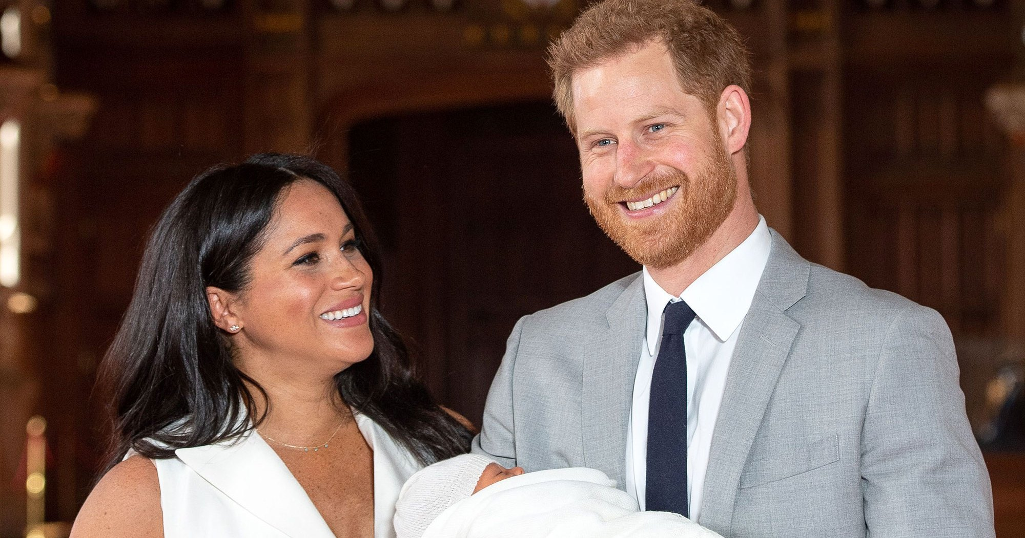 Prince Harry, Meghan Markle's Baby Archie's Royal Page Had a Typo