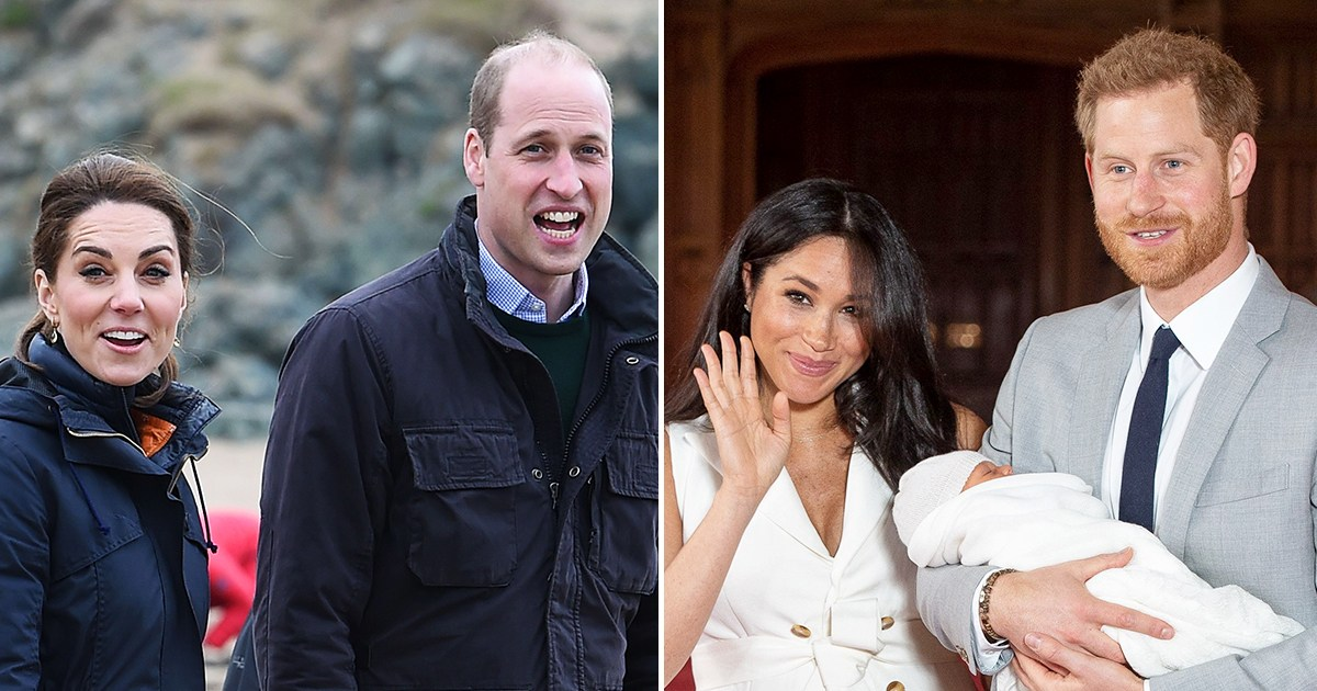 When Prince William, Duchess Kate Will Meet Baby Archie