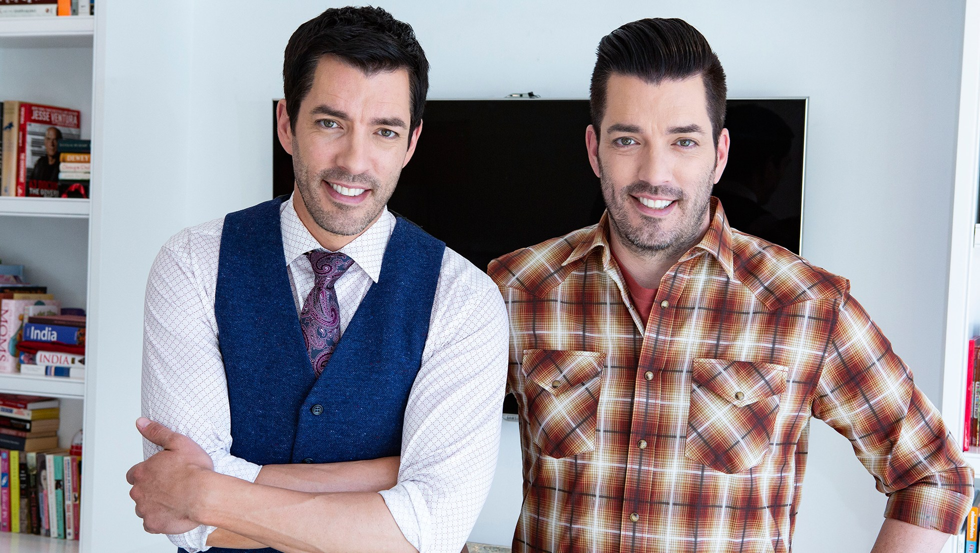 Property Brothers' Jonathan and Drew Scott Are Restoring 'Brady Bunch' House