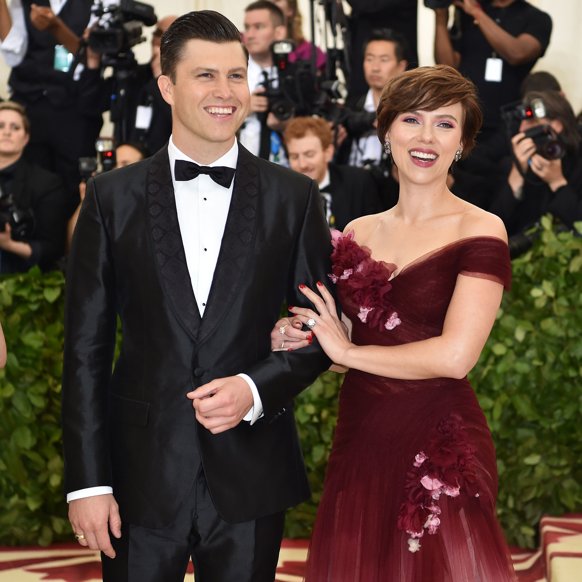 Scarlett Johansson And Colin Jost S Relationship Timeline Newsopener