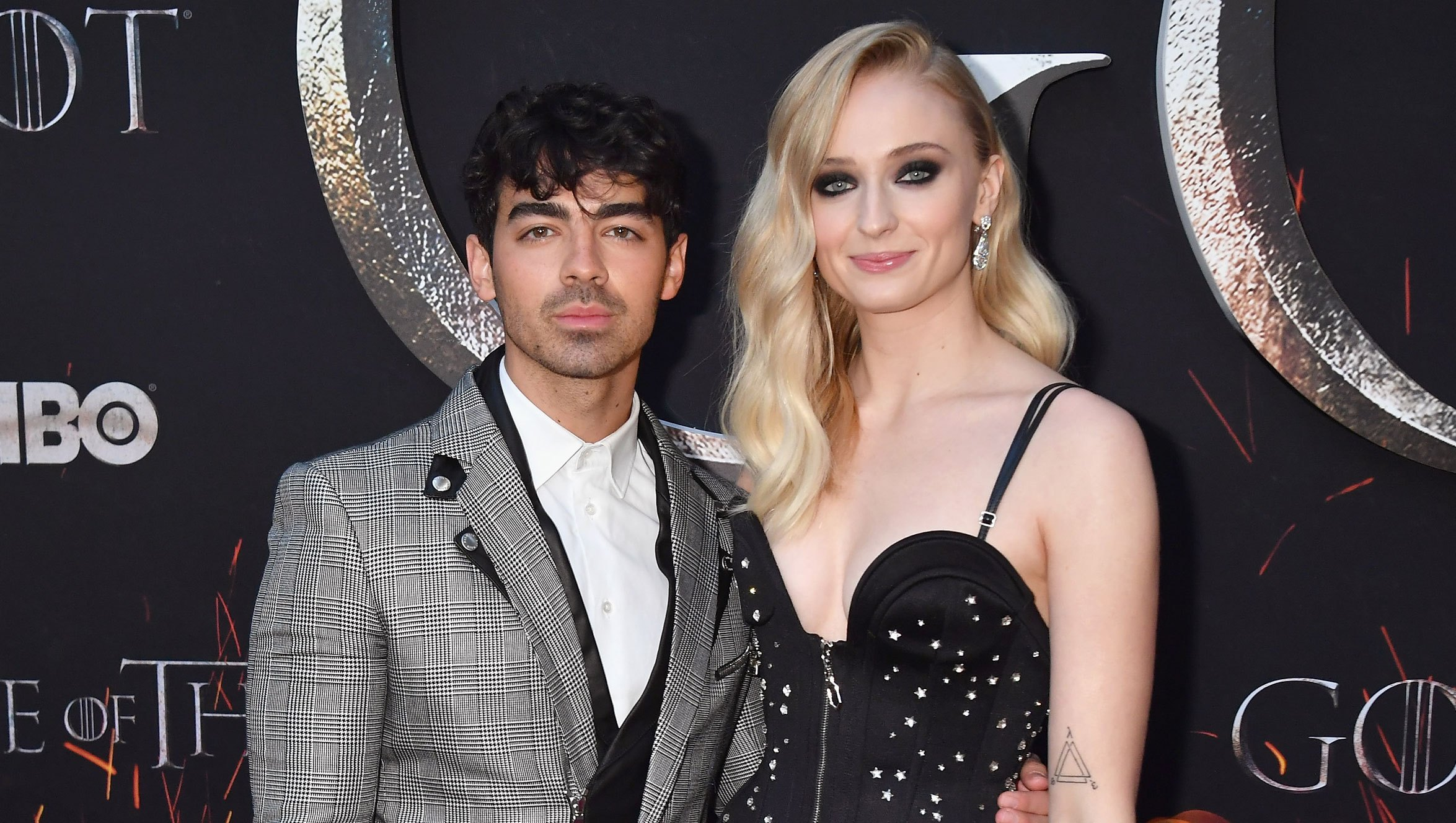 "Sophie Turner Describes Brief Split From Joe Jonas: 'We Both Had Cold Feet' ""Game Of Thrones"" Season 8 NY Premiere"