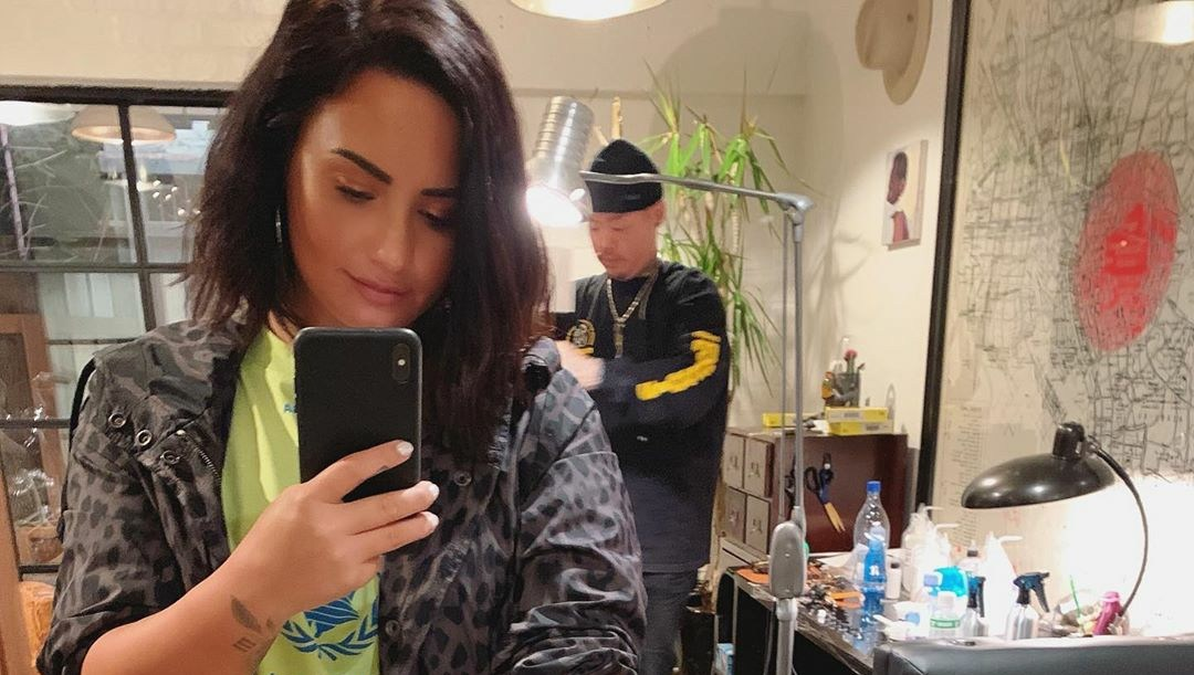 Demi Lovato New Tattoo