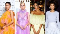 Stylish Marc Jacobs Zendaya, Lucy Boynton, Laura Harrier, and Kerry Washington