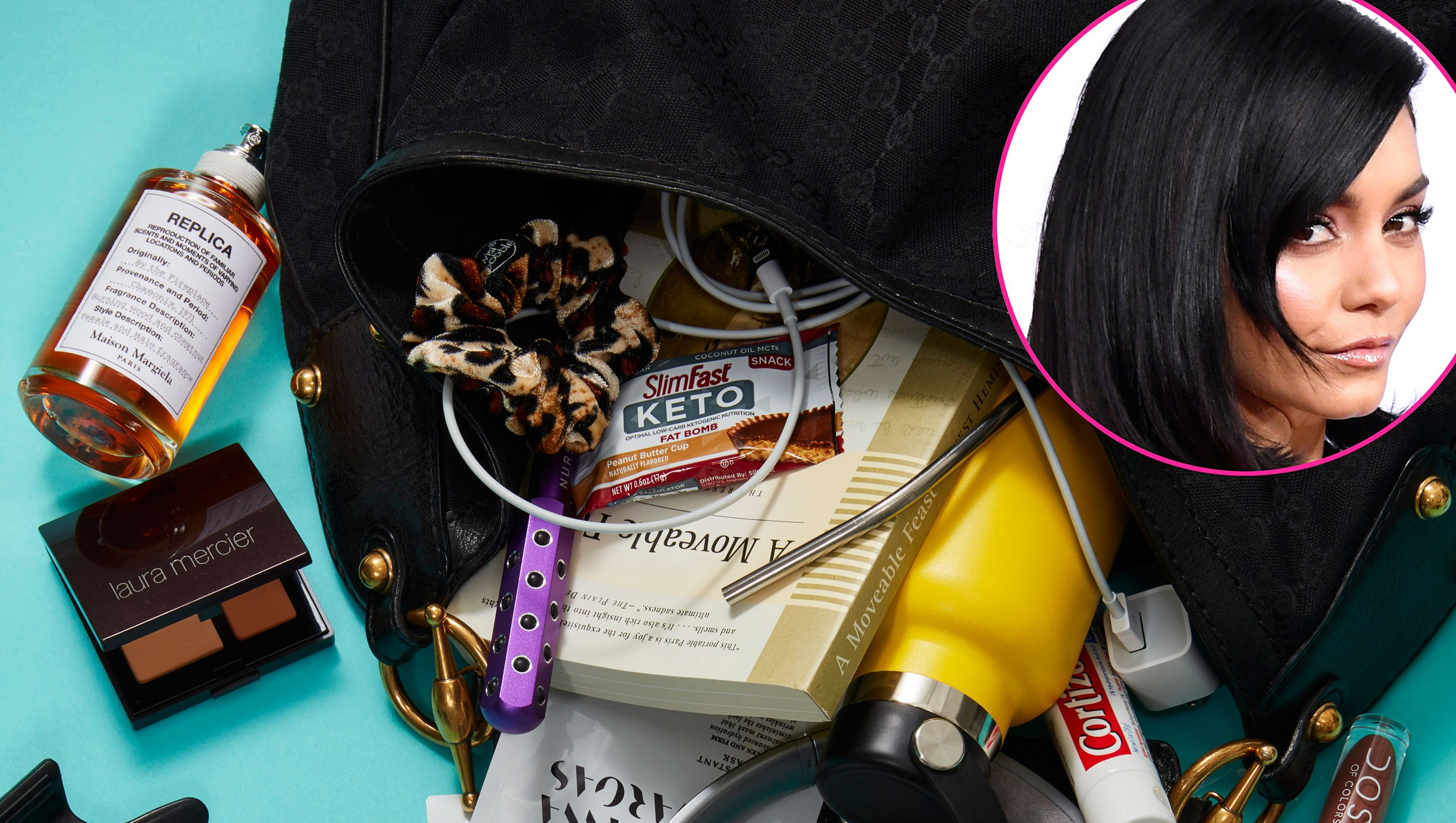 Vanessa Hudgens What's in My Bag