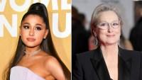 Ariana Grande and Meryl Streep Netflix Film The Prom
