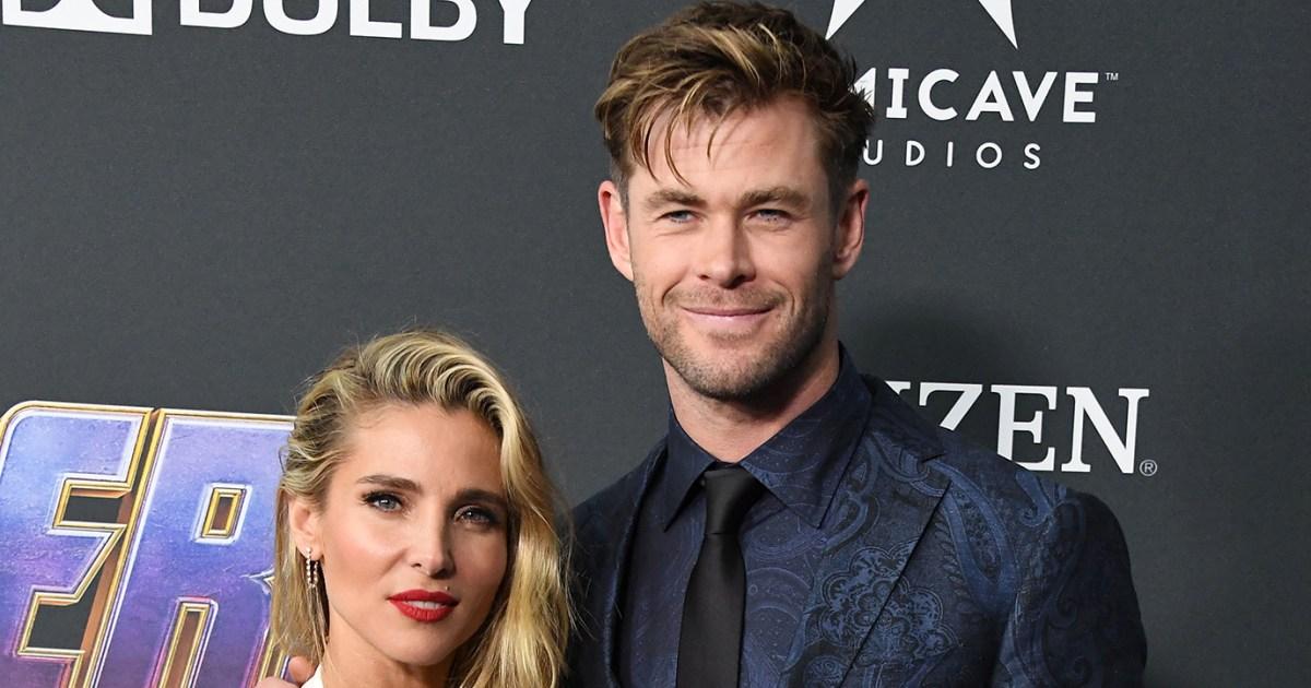 Chris Hemsworth's Wife Elsa Pataky 'Sick' of His Shirtless