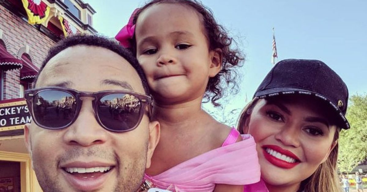 Chrissy Teigen Defends Daughter Luna's 1st Dentist Trip
