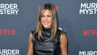 Jennifer Aniston Body Gallery Murder Mystery Red Carpet