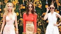 Jennifer Lawrence Emily Ratajkowski Coco Rocha Garden Party Style Veuve Clicquot Polo Classic