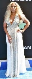 Mary J. Blige White Gown BET Awards June 23, 2019
