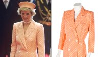 Princess Diana Dress Auction Peach Coatdress