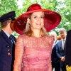 Queen Maxima Mauve Dress June 19