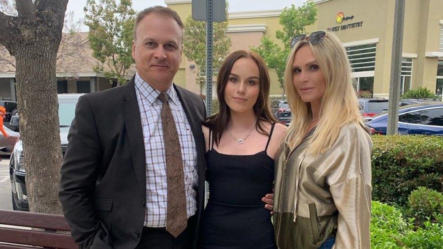 Tamra Judge and Ex Husband Simon Barney Reunite For Daughter's Eighth Grade Dance