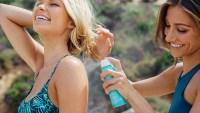 Women Using Sunscreen