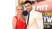 Britney Spears Sparks Engagement Rumors While Making Red Carpet Debut With Boyfriend of Nearly 3 Years Sam Asghari