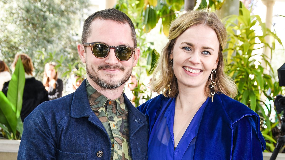 Is Elijah Wood Engaged Expecting Baby With Mette Marie Kongsved