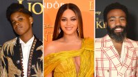 JD McCrary, Beyonce and Donald Glover Lion King