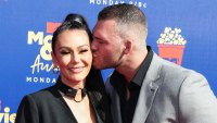 Jenni JWoww Farley and Zack Carpinello at MTV Movie and TV Awards Instagram Video Holding Grayson