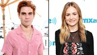 KJ Apa Britt Robertson Are Dating After Comic-Con PDA