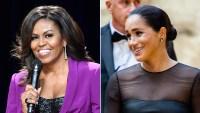 Michelle Obama Meghan Markle Vogue UK Interview