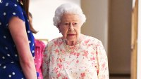 Queen Elizabeth Floral Dress July 17, 2019