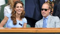 The Duke And Duchess of Cambridge at the 2019 Wimbledon Men's Singles Final