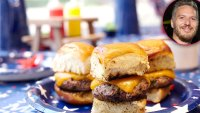 Top Chef's Spike Mendelsohn Shares 'Delicious' July 4th Slider Recipe, Tips for Cooking for Large Groups