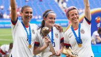 US Women's Soccer Team Win July 7, 2019